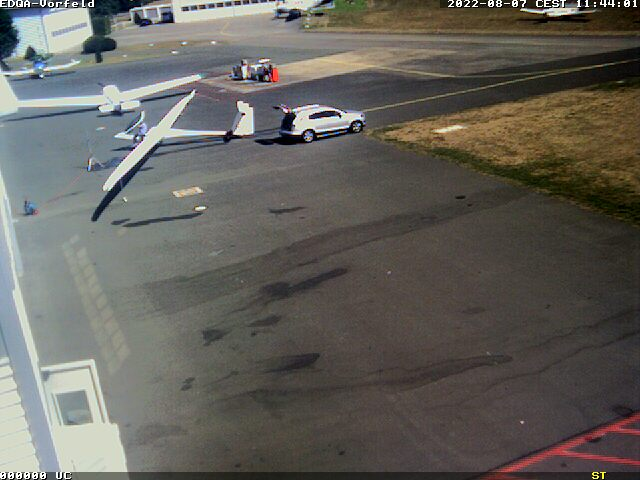 Webcam Flugplatz Bamberg